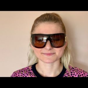 CHANEL Accessories - Chanel Oversized sunglasses authentic